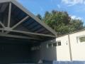 Opening four season pool room