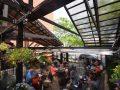 Restaurant patio enclosure