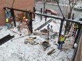 Installing patio enclosure
